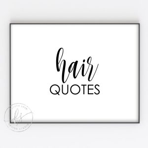 Hair Quotes
